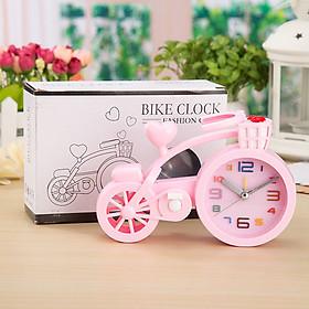 đồng hồ báo thức để bàn hình xe đạp ngộ nghĩnh