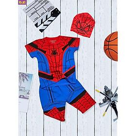 Đồ bộ thun siêu nhân bé trai từ 12-42Kg-Chất cotton 4 chiều in thấm yên tâm giặt máy -Hương Nhiên
