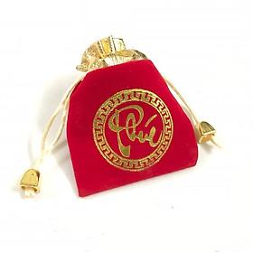 Túi gấm đỏ chữ Phúc may mắn và tài lộc, phong thủy sưu tầm - PCCB MINGT