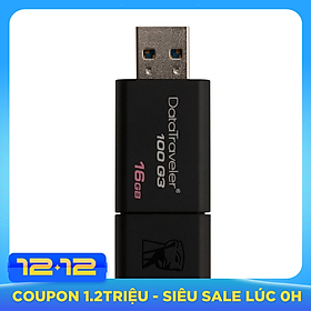 USB Kingston DT100G3 16GB USB 3.0 - Hàng Chính Hãng