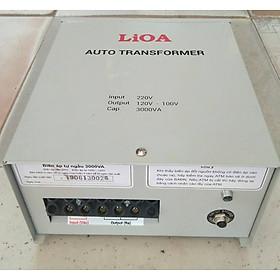 Bộ đổi nguồn 220v sang 100v - 120v lioa 3000va ( 2700w)