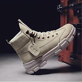 Giày bốt cao cổ nam cao cấp mẫu mới phong cách hàn quốc hot trend SP362