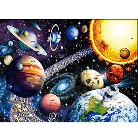 Tranh ghép hình 1000 mảnh giấy Solar system 50x75cm