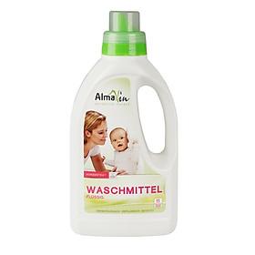 Nước giặt quần áo cho bé hữu cơ hương hoa Oải hương (không dùng cho đồ lụa và len) 750ml - Almawin