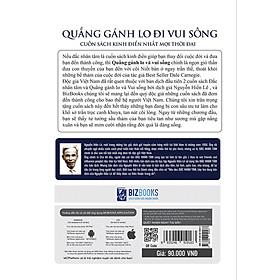 Quẳng Gánh Lo Đi Và Vui Sống - Nguyễn Hiến Lê ( tặng Bookmark tuyệt đẹp )