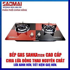 Bếp gas âm SANKAtech SKT-791BB - bếp ga Điếu gang 3 vòng lửa - Hàng chính hãng