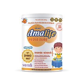 Sữa bột Amalife Pedia Sure dinh dưỡng dành cho trẻ suy dinh dưỡng, biếng ăn, thấp còi SUNBABY -900G AMAPE2020