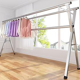 Giàn phơi đồ đa năng- giàn phơi quần áo gấp gọn tiện dụng