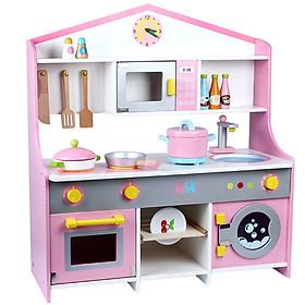 Bộ nhà bếp phong cách Nhật Bản B đồ chơi gỗ cho bé