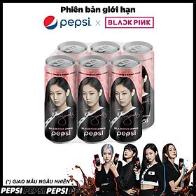 Lốc 6 Lon Nước Ngọt Có Gas Pepsi Không Calo (330ml/Lon)