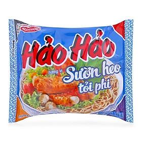 Thùng Mì Gói Hảo Hảo Hương Vị Sườn Heo Tỏi Phi (30 Gói x 73g)
