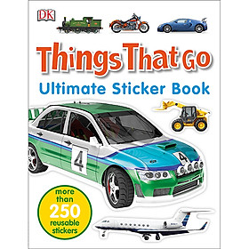 Ultimate Sticker Book Things That Go