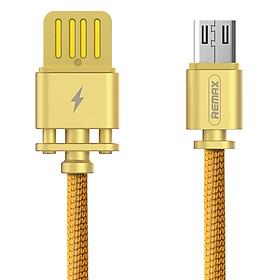 Cáp Sạc Micro USB Bọc Vải Đàn Hồi Remax RC-064M (1m) - Hàng chính hãng