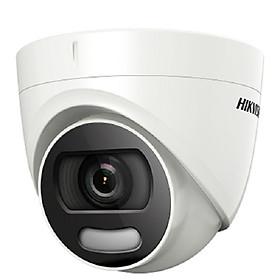 Camera HD-TVI Colorvu Dome Hồng Ngoại 2MP HIKVISION DS-2CE72DFT-F - Hàng Chính Hãng