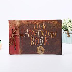 Album ảnh cưới gia đình 40 trang Our Adventure 29x19cm/11.4x7.5inch
