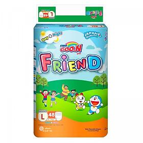 Tã Quần Goo.n Friend Gói Cực Đại L48 (48 Miếng)-0