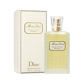 Miss Dior Originale By Christian Dior For Women. Eau De Toilette Spray 3.4 Oz.