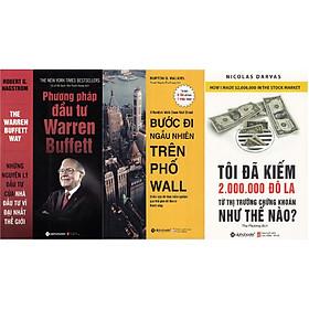 Combo Đầu Tư Thành Công ( Phương Pháp Đầu Tư Warren Buffett + Bước Đi Ngẫu Nhiên Trên Phố Wall + Tôi Đã Kiếm Được 2.000.000 Đô-La Từ Thị Trường Chứng Khoán Như Thế Nào? ) tặng kèm bookmark Sáng Tạo