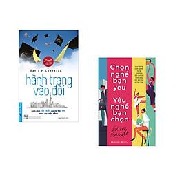 Combo 2 cuốn sách: Hành Trang Vào Đời +  Chọn Nghề Bạn Yêu Yêu Nghề Bạn Chọn