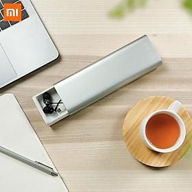Hộp Đựng Dụng Cụ Cá Nhân/ Hộp Bút Kim Loại Nhỏ Gọn Bằng Nhôm Chức Năng Đẩy Đóng Bằng Công Tắc Tiện Lợi Xiaomi MIIIW (Hệ Sinh Thái Xiaomi)