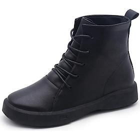 Giày boot phong cách Hàn Quốc trẻ trung cá tính dành cho nữ