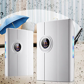 Máy hút ẩm YZCS-10F công nghệ hút ẩm Hybrid màn hình LED hiển thị nhiệt độ độ ẩm dung tích 2.2L