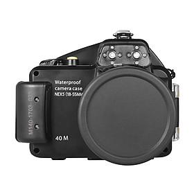 Vỏ Bảo Vệ Camera Meikon Chống Thấm Nước Cho Canon G7X Mark II (40m/130ft)