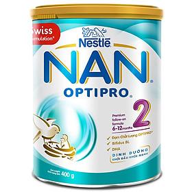 Sữa Bột Nestlé NAN Optipro 2 (400g)
