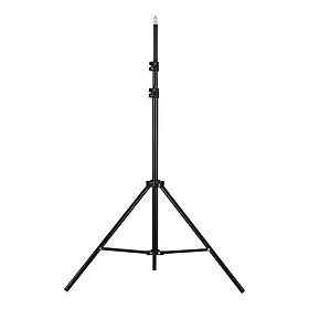 Giá đỡ điện thoại chụp ảnh chiều cao 2m / 6.6ft có thể điều chỉnh với vít 1/4 inch kèm đèn LED tròn cho máy ảnh