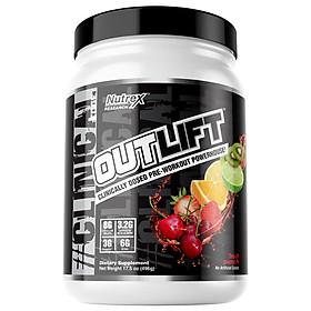 Sữa Tăng Sức Mạnh Nutrex Outlift Pre Workout - Thực phẩm bổ sung năng lượng trước tập, tăng năng lượng tỉnh táo - 20 liều dùng - chính hãng BBT