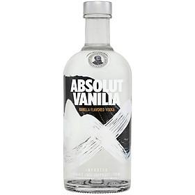 Rượu Vodka Absolut vị vanilla 700ml 40% - Không kèm hộp