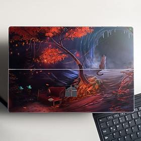 Skin dán hình Fantasy x04 cho Surface Go, Pro 2, Pro 3, Pro 4, Pro 5, Pro 6, Pro 7, Pro X - Mã: fts023 - Surface Pro X