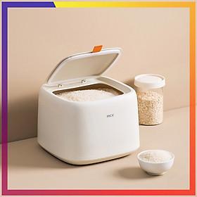Thùng đựng gạo 10kg - Thùng đựng gạo thông minh chống nước, chống ẩm mốc. Thùng gạo thiết kế hiện đại giúp gian bếp gọn gàng và bắt mắt