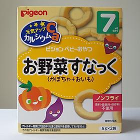 Bánh  ăn dặm Pigeon Nhật Bản 7M - Vị Bí đỏ và khoai lang 13392