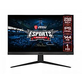 Màn hình máy tính MSI Optix G241 23.8 inch FHD 144Hz - Hàng Chính Hãng