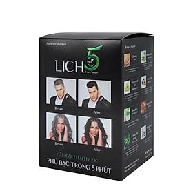 Dầu gội đen tóc Lich5