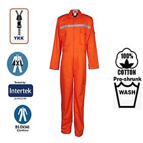 Bộ áo liền quần bảo hộ 100% cotton SEAVIEW Zip