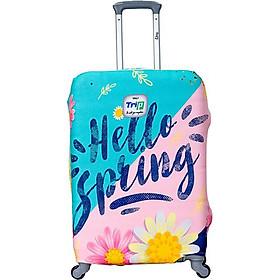 Áo Trùm Vali Thun 4 Chiều Trip Hello Spring ATHVHS