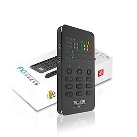Hình đại diện sản phẩm Sound Card XOX FX3 Mobile Bluetooth Thu Âm Live Stream - Hàng Nhập Khẩu