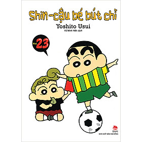 Shin - Cậu Bé Bút Chì Tập 23 (Tái Bản 2019)