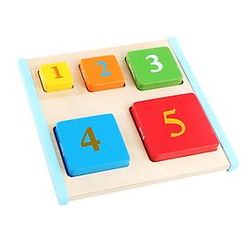 Đồ chơi Nhận biết màu sắc số lượng ( Từ 1-3 tuổi)