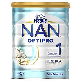 Sữa Nan Optipro số 1  (800g) dành cho bé từ 0 đến 6 tháng tuổi