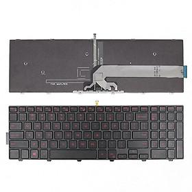 Bàn phím dành cho Laptop Dell Inspiron Gaming 15-7559 LED đỏ