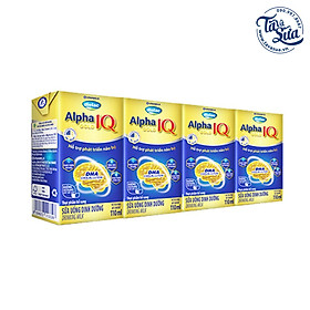 COMBO 48 HỘP SỮA BỘT PHA SẴN DIELAC ALPHA GOLD IQ (110ML)