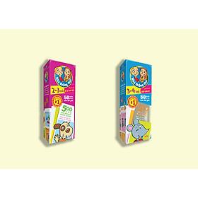 Combo 2 hộp sách Nhà thông thái 2-3 tuổi, 3-4 tuổi