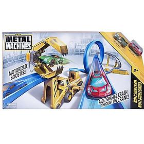 Bộ Đồ Chơi Đường Đua Công Trường Thách Thức Zuru Metal Machines 6703