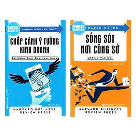 Combo HBR Guide To: HBR Guide To - Chắp Cánh Ý Tưởng Kinh Doanh + HBR Guide To - Sống Sót Nơi Công Sở