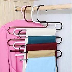 Bộ 3 móc treo quần áo, khăn 5 tầng thông minh tiện dụng