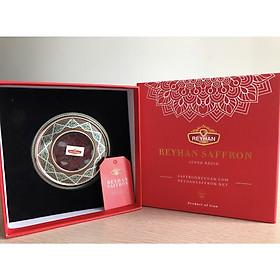 Reyhan Saffron - nhụy hoa nghệ tây cao cấp có tem mác đầy đủ (hộp 10 gram) tặng bình thủy tinh 500ml