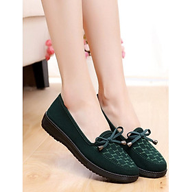 Giày búp bê nữ size chuẩn nhiều màu siêu xinh thắt nơ V222